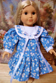 "DAISIES DRESS FOR 18"" AMERICAN GIRL"