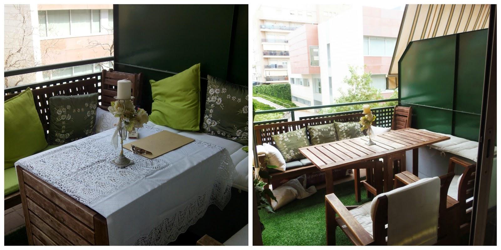 Vadekids como convertir un balc n en un gran espacio - Balcones pequenos con encanto ...