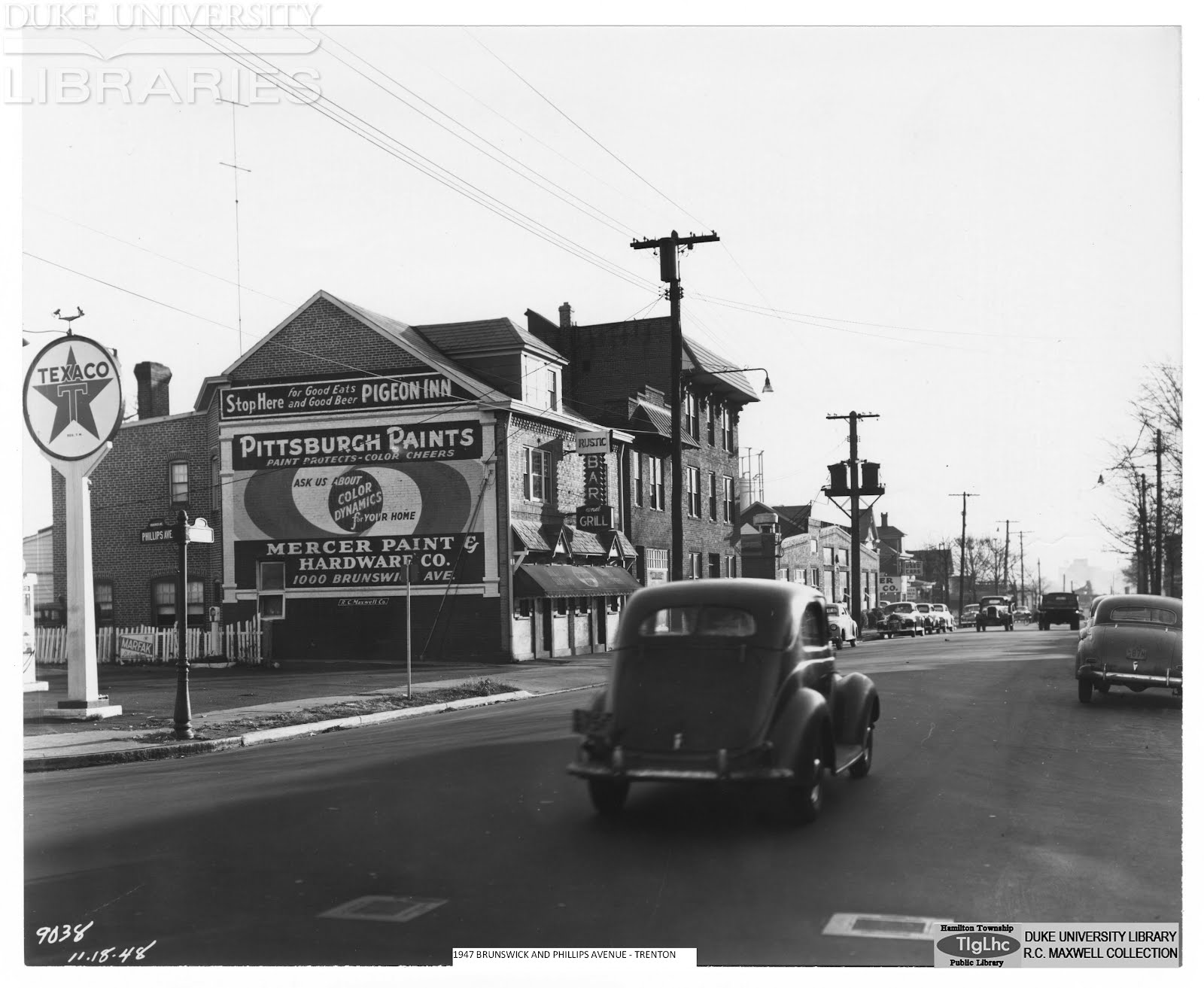 Barber Shop Hamilton Nj : TOM GLOVERS HAMILTON LIBRARY SCRAPBOOK: LOCAL HISTORY WITH A PERSONAL ...