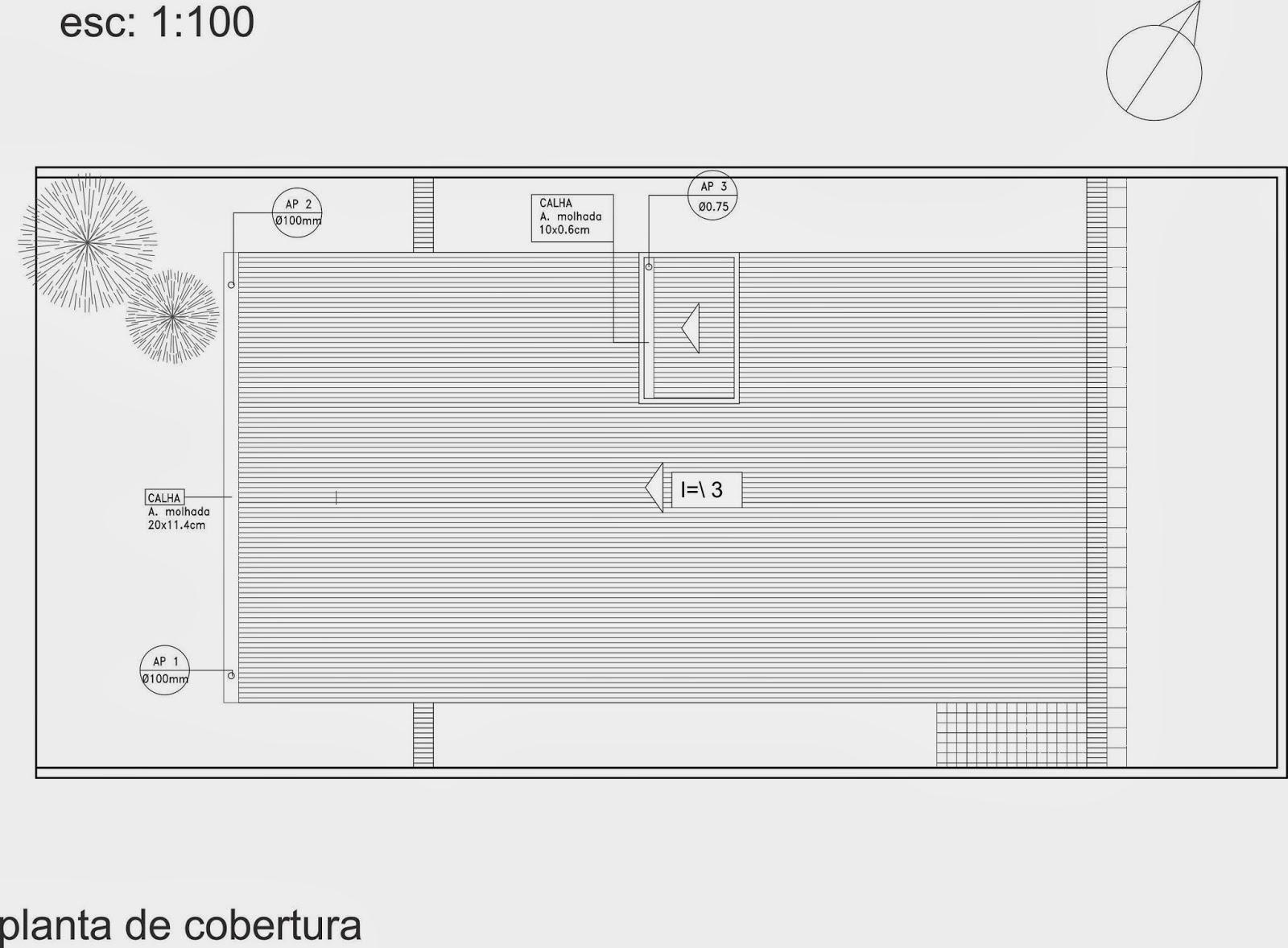 Pellegrino : Projeto de instalações hidráulicas para residência #676465 1600 1178