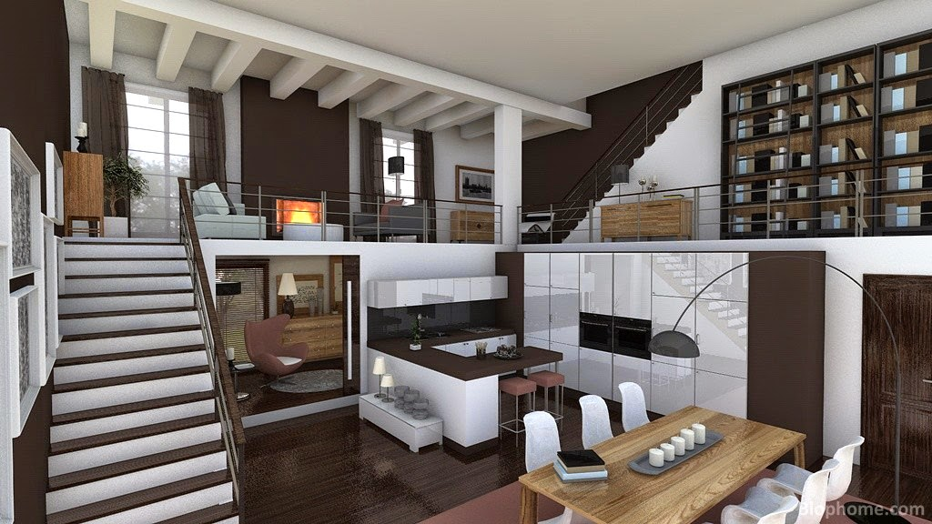 Decoracion lofts decoracion casas ideas interiores - Mandarina home catalogo ...