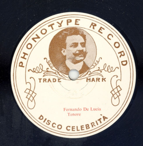 FERNANDO DE LUCIA (1860-1925): PHONOTYPE RECORDS CD