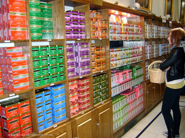 Travel Tuesday: Twinings Tea Shop, London