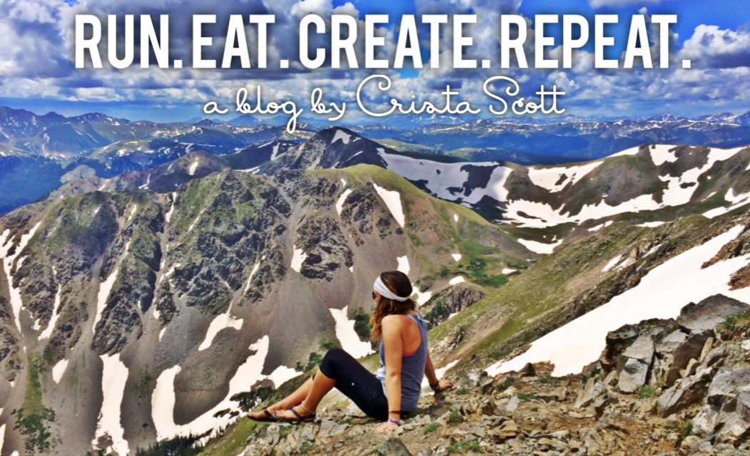 Run. Eat. Create. Repeat.