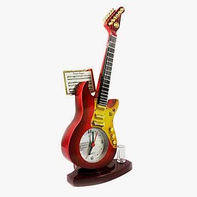 Reloj Despertador Guitarra Eléctrica