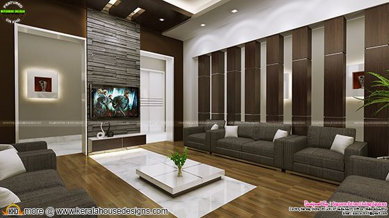 Family living room interior