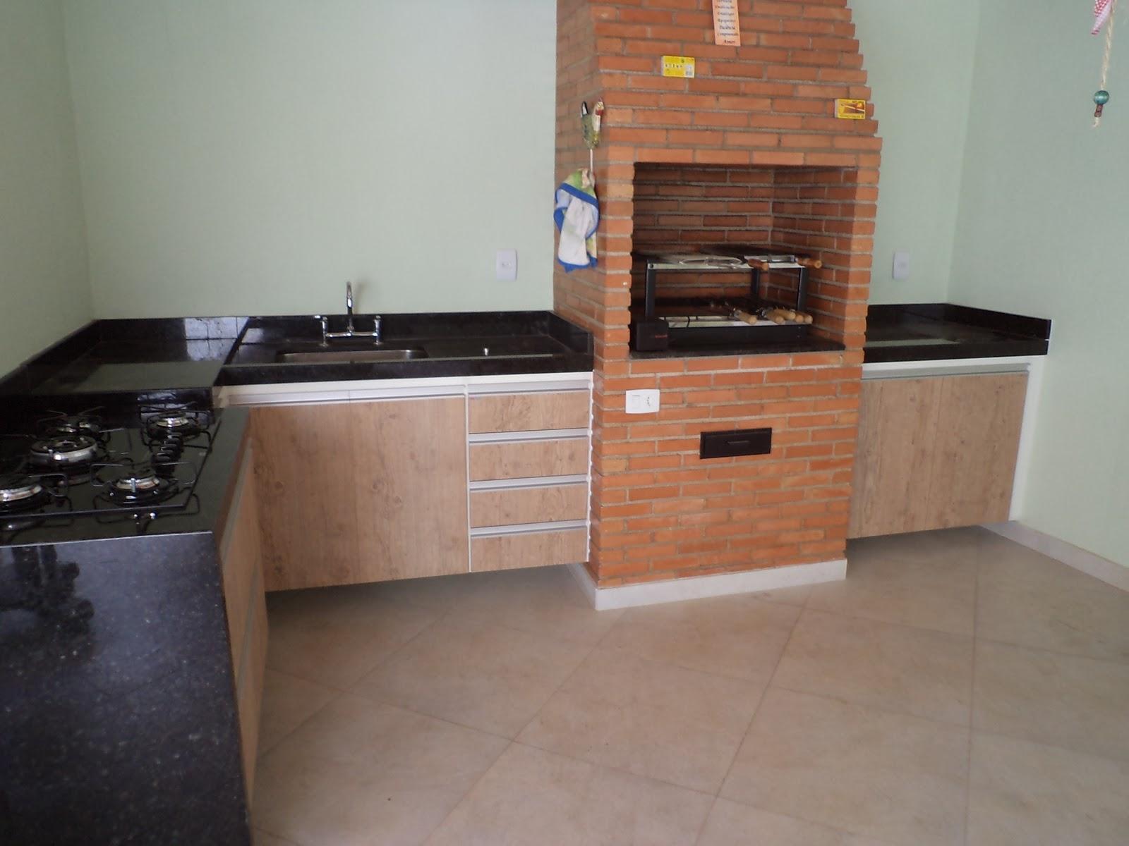 #8F593C cozinha planejada em mdf de 15mm no padrão branco com frentes de  1600x1200 px Projetos De Cozinha Externa_5445 Imagens