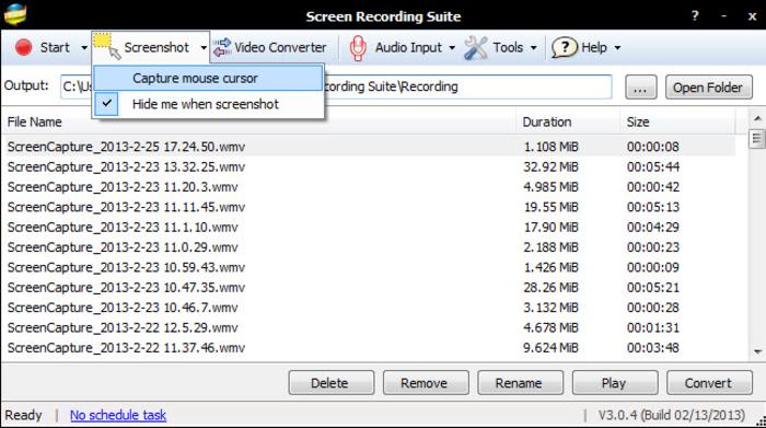 تحميل برنامج Screen Recording Suite لتصوير الشاشة فيديو مجانا