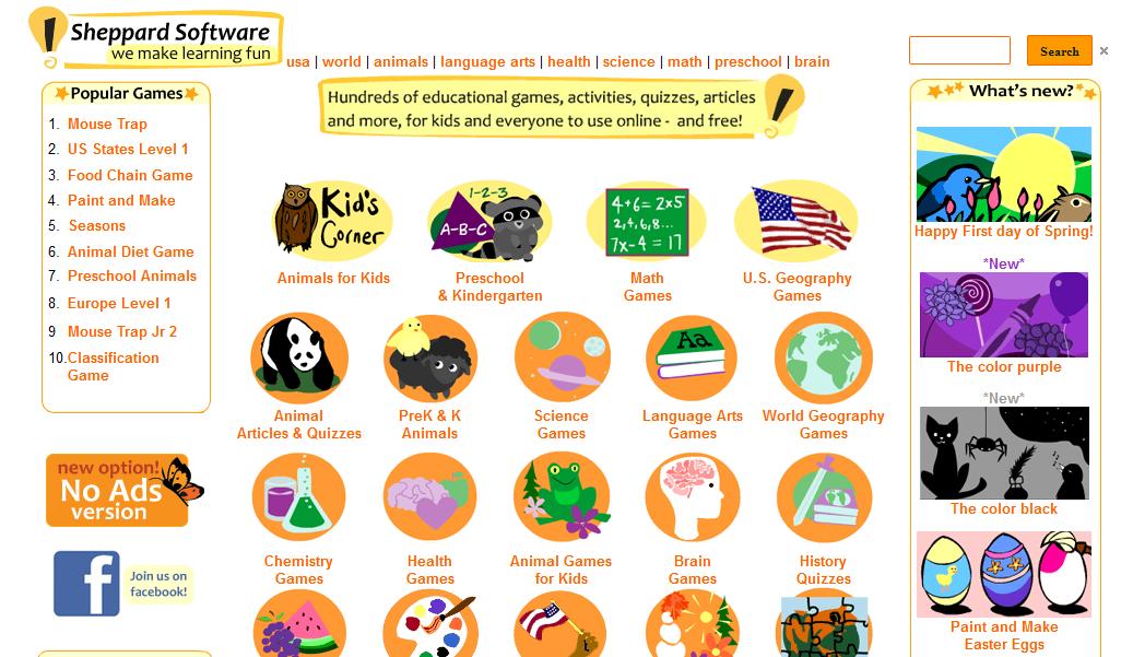 Blok888: Top 10 Best Educational Animal Websites for Kids