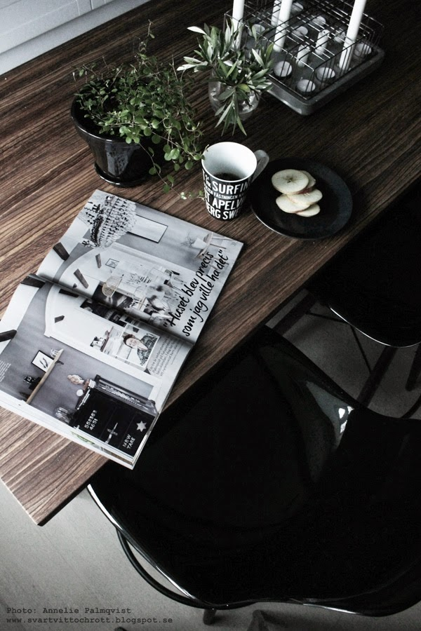 hemma hos reportage, inredningsreportage, inredning, härligt hemma, bilaga aftonbladet, kök,