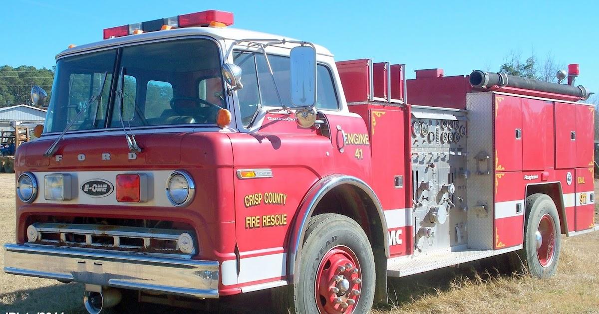 Fire Dept. Trucks GA. FL. AL. Rescue Station Firemen ...