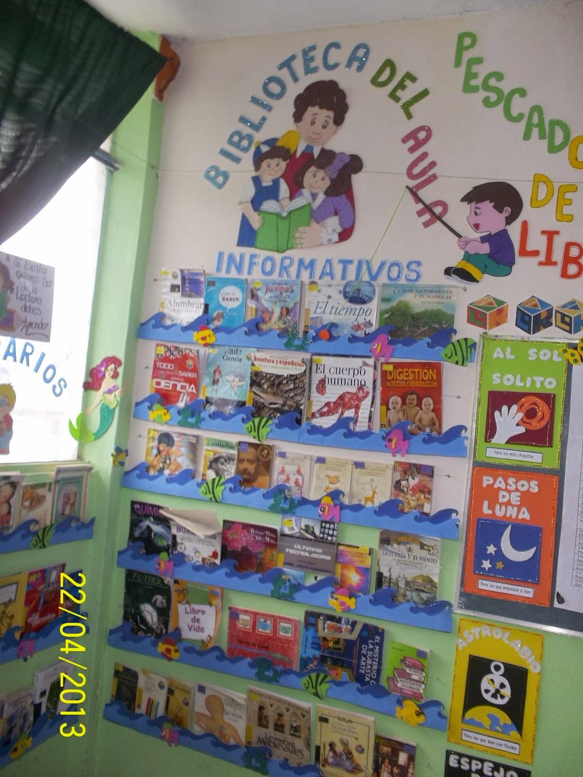 BIBLIOTECAS ESCOLARES Y DE AULA: Las bibliotecas de aula
