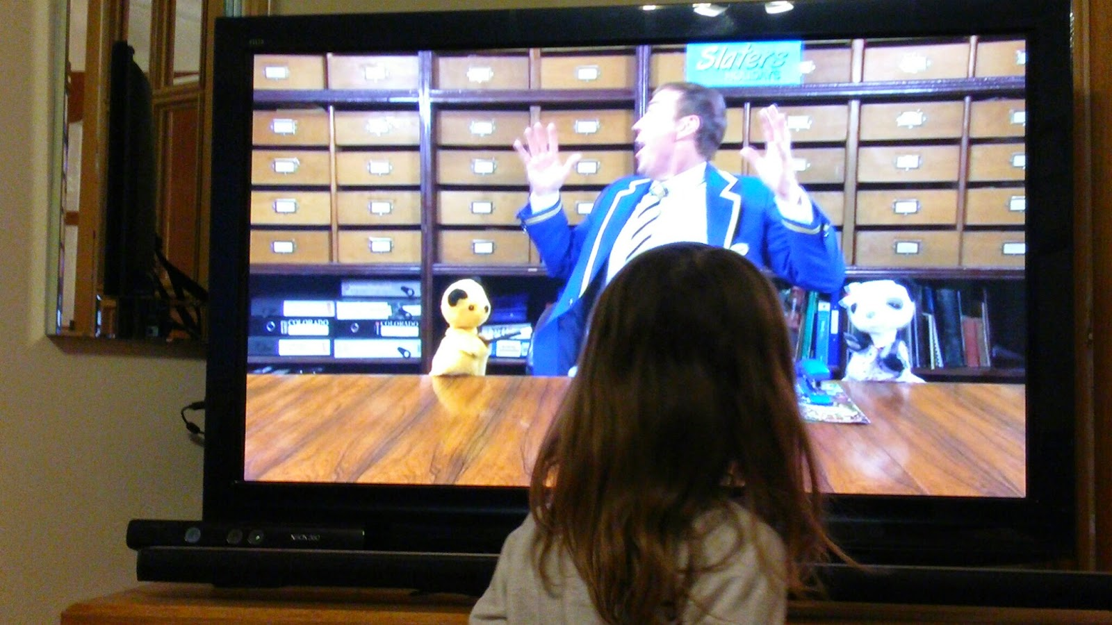 Watching Sooty