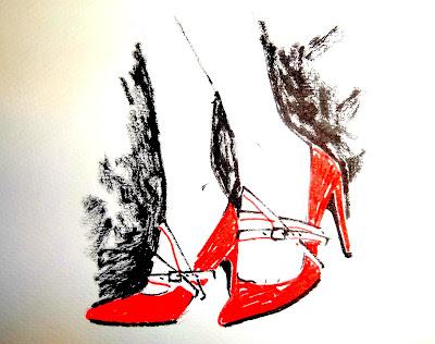 madamemademoiselle.blogspot.com cinturones zapatos DIY