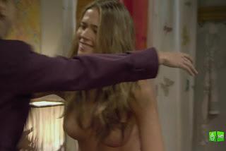 Patricia Montero desnuda en 'BuenAgente'