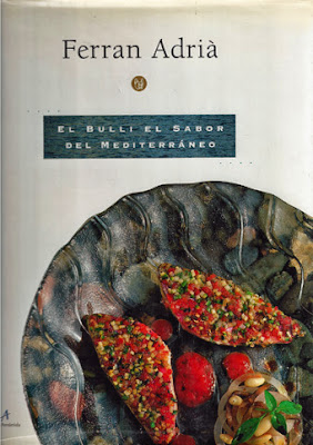 Libros de cocina y gastronom a el bulli el sabor del for Ferran adria platos