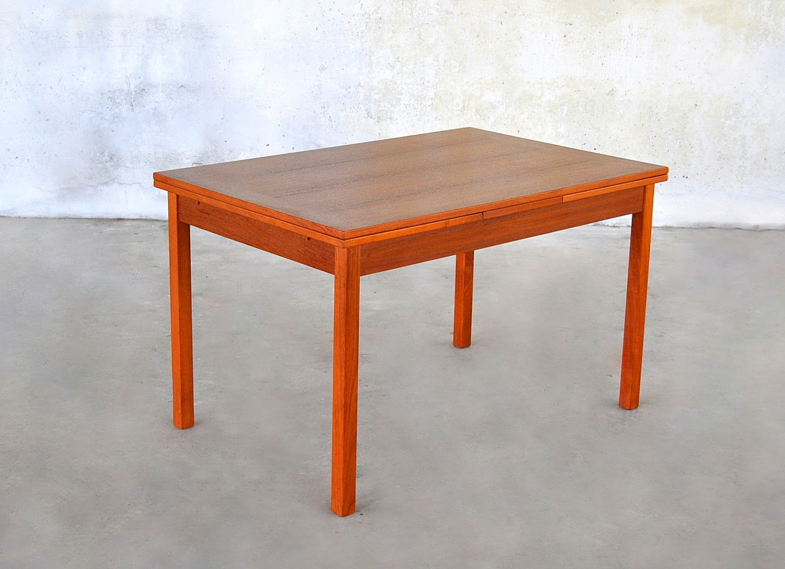 Select modern danish modern teak expandable dining room table for M s dining room tables