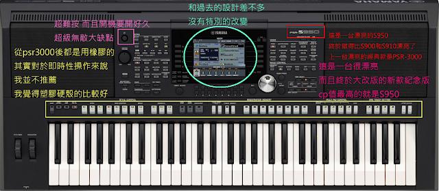 PSR-S950