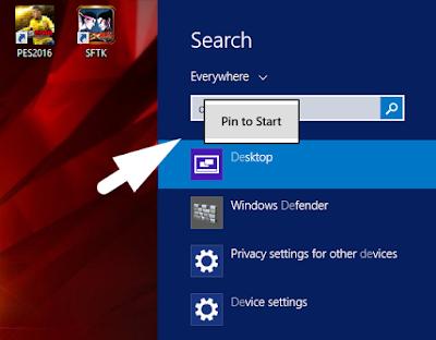 Cara Menambahkan Menu Start Screen Yang Hilang Pada Windows 8/ 8.1 4
