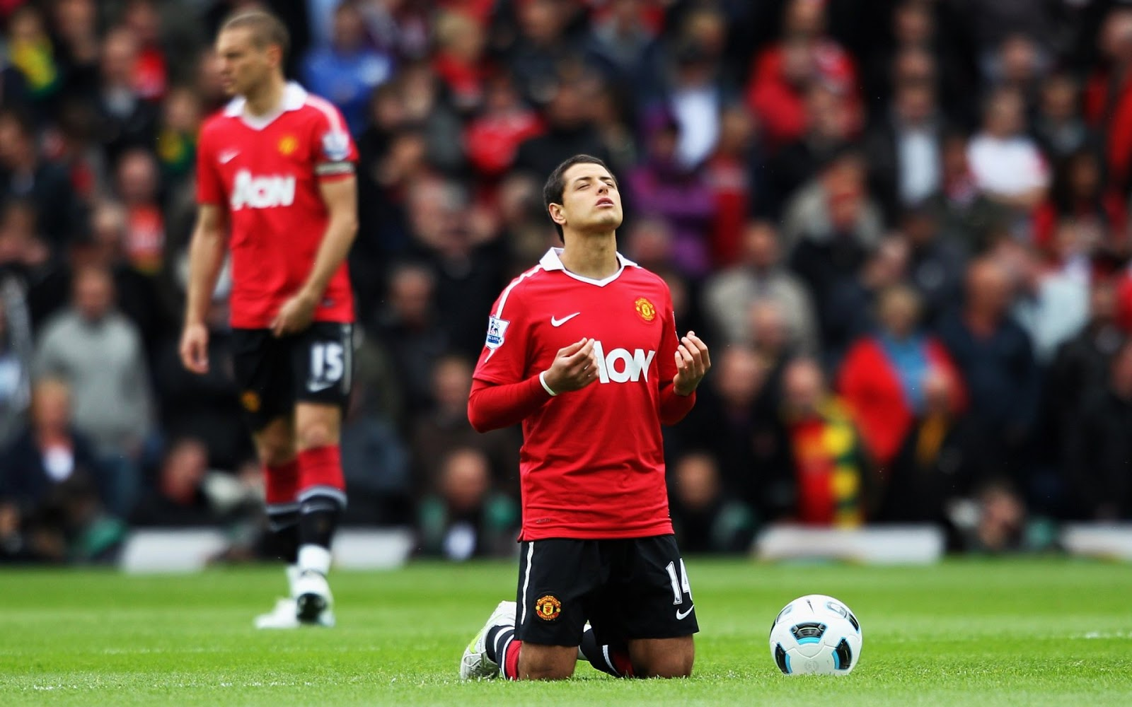 Chicharito Manchester United