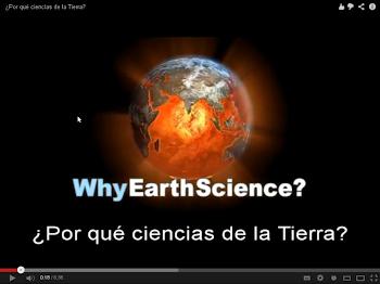 ¿Por qué las Ciencias de la Tierra?