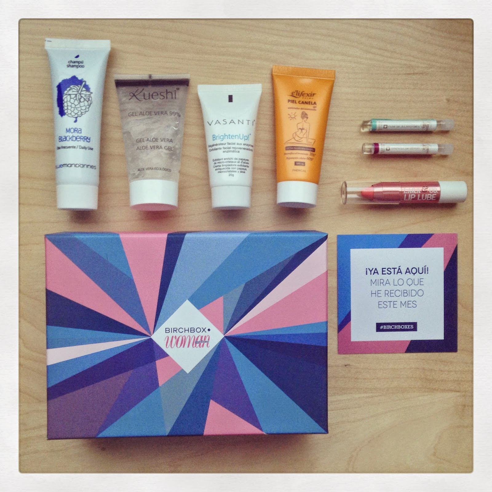 Summer Nights, la Birchbox de Julio de 2014