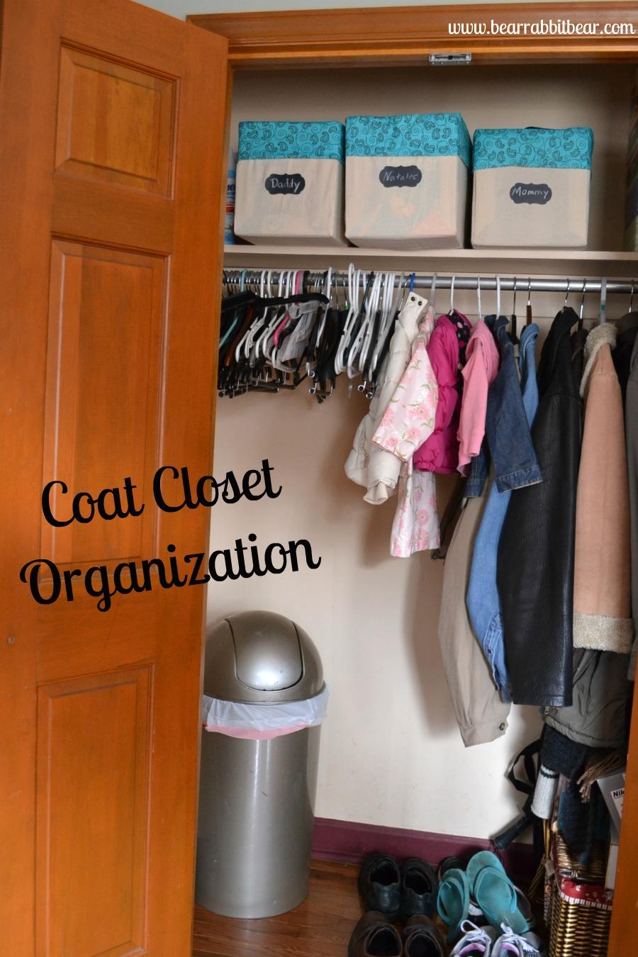 Tips For Coat Closet Organization