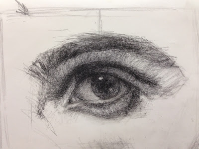 Contour Line Drawing Eye : Terry strickland art: how to draw and paint facial features part 1