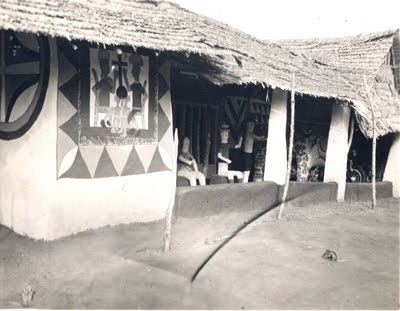 Pre colonial igbo land igbo people prior to colonization for Yoruba architecture