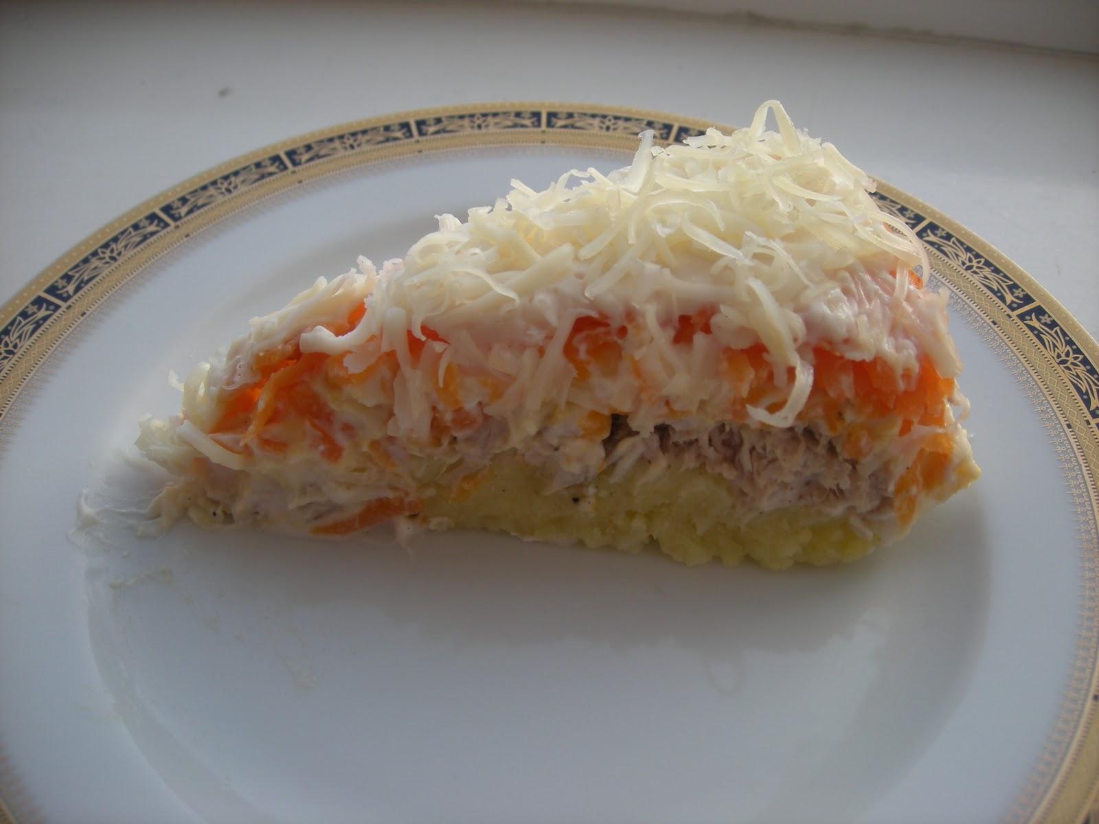 Patatesli Mimoza Salata Tarifi