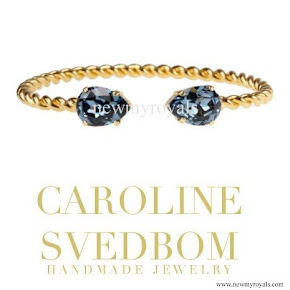Princess Sofia style Caroline Svedbom Mini Drop Bracelet
