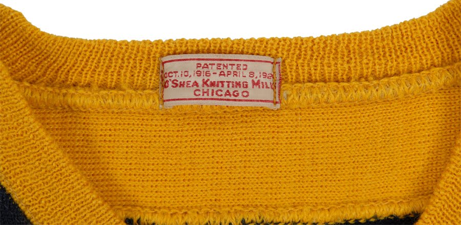 Chicago Knitting Mills : The wearing of green and gold december
