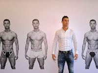 Christiano Ronaldo Luncurkan Merek Pakaian Dalam