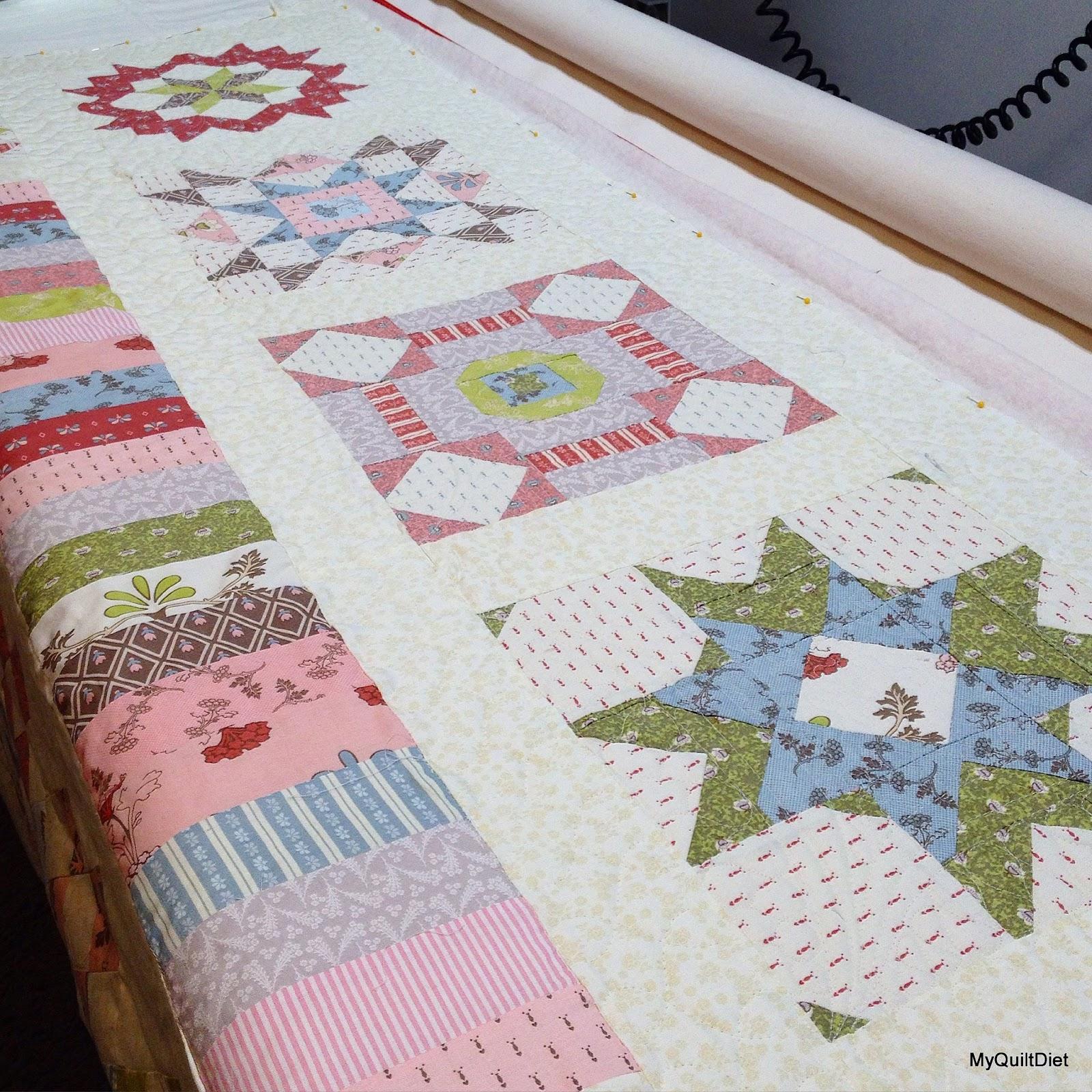 My quilt diet jill 39 s grandmas garden shed quilt for Garden shed quilting