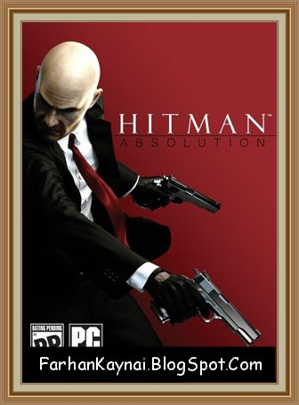 Hitman 5 Absolution PC Download Game  (Cover)  By Farhankayani.Blogspot.com
