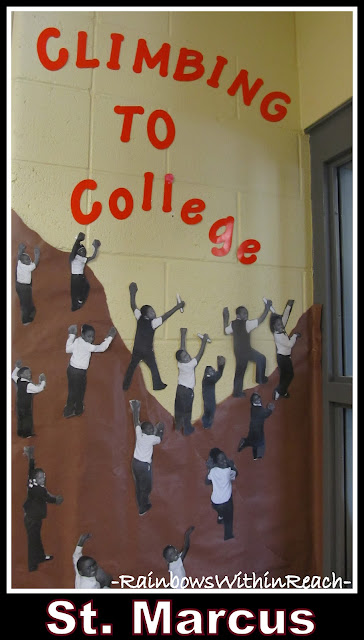 photo of: Climbing to College, Bulletin Board at St. Marcus, Milwaukee