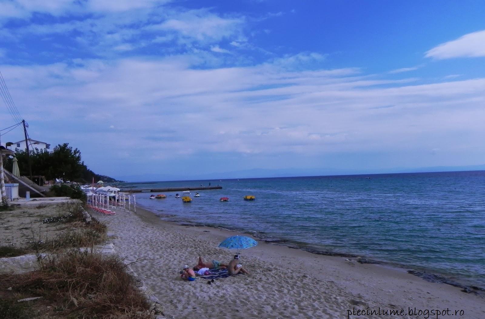 Un alt colt din plaja Kallithea
