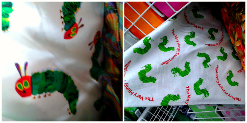 The Very Hungry Caterpillar fabrics