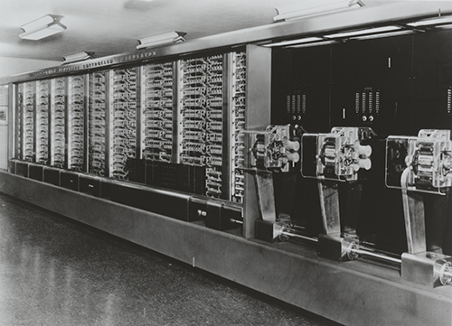a history of the electronic computer A brief history of computing by jack copeland  the first fully functioning electronic digital computer to be built in the us was eniac, constructed at the moore .