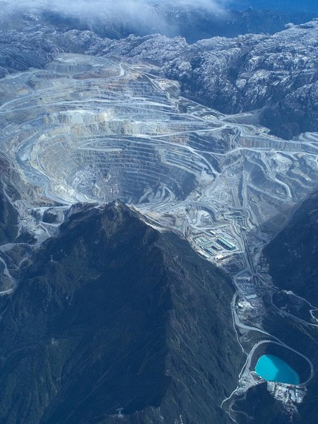 Grasberg Mine, Indonesia