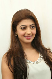 Actress Pranitha Pictures in White Dress at Homeo Trend Super Speciality Hospital Launch 0016