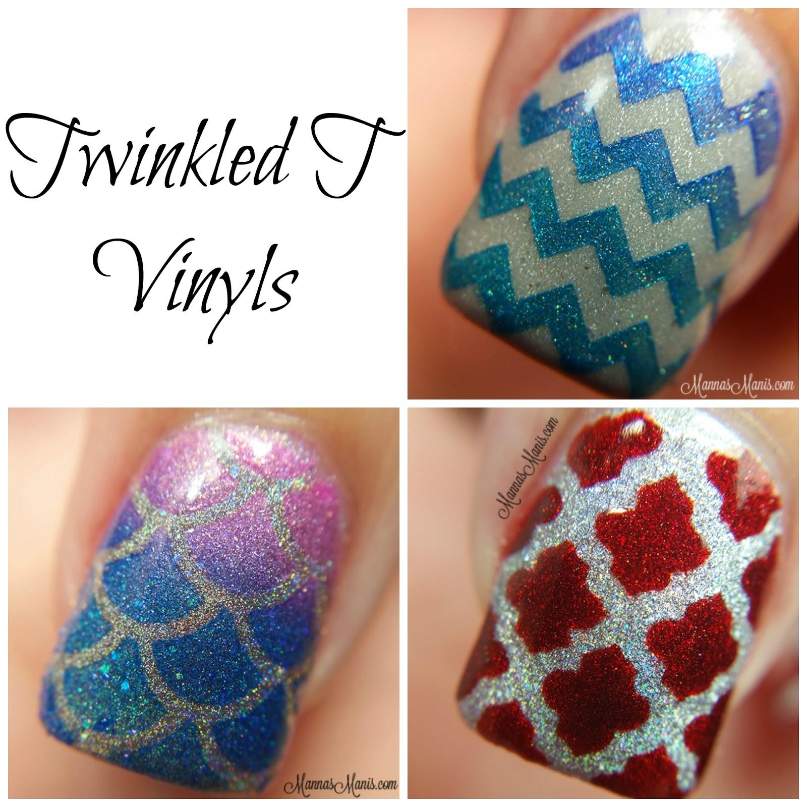 Twinkled T Vinyls Nail Art - Manna\'s Manis
