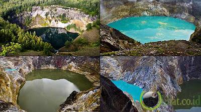 Danau Paling Unik Dan Hanya Di Indonesia