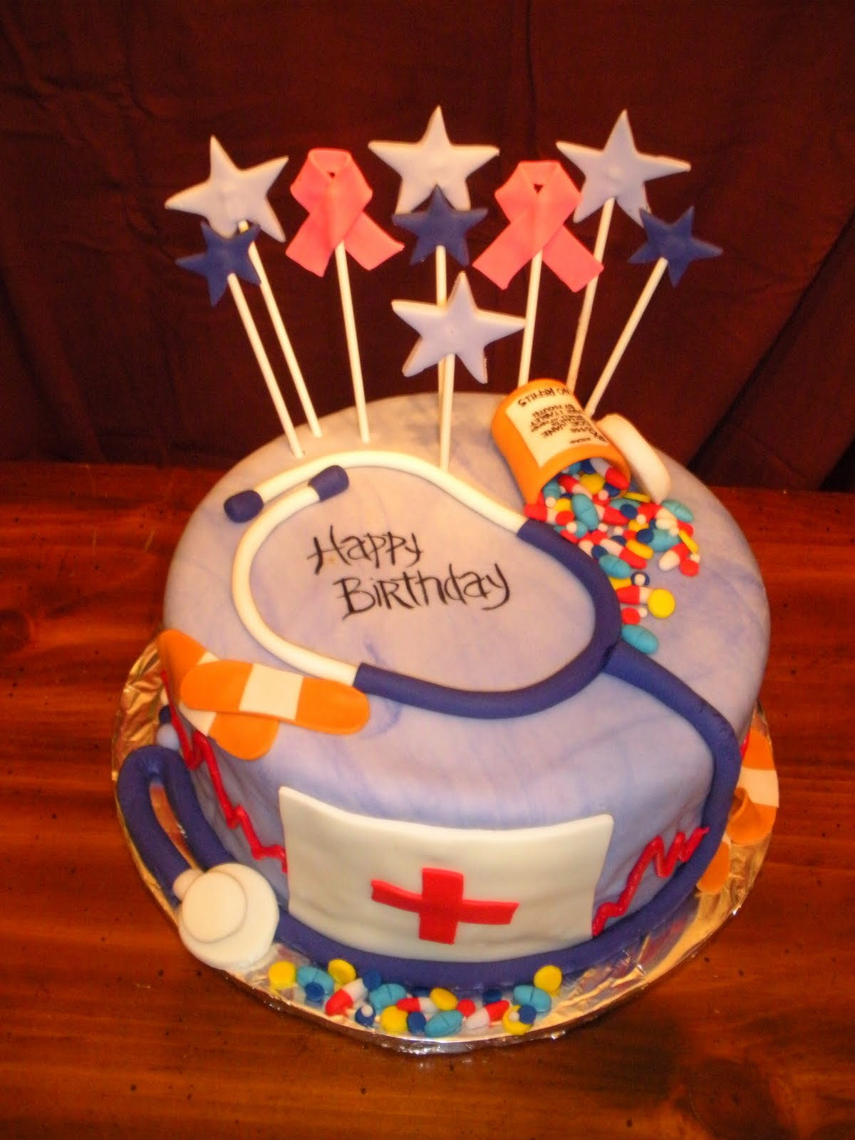 Birthday Cake Images For Nurses Dmost for