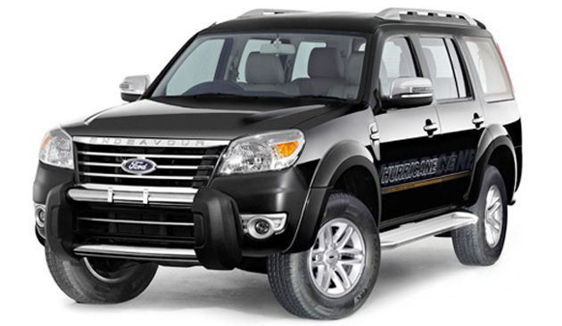 Ford Endeavour Hurricane Limited Edition