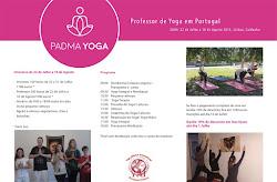 Formaçao em Professor de Yoga Intensiva de  22 de Julho a 10 de Agosto