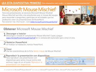 Descargar Mareas con Mouse Mischief, plantillas, formatos, modelos, power point