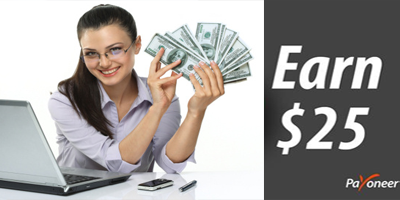 Earn $25 once you sign up on Payoneer from gstevewall