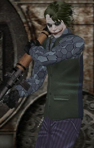Mods Para Gta Outros Dark Knight Joker Coringa