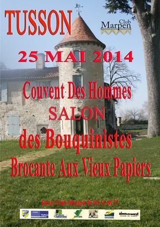 http://www.charentelibre.fr/2012/05/26/bouquinistes-tusson-se-met-a-la-page,1097019.php